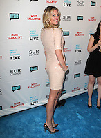 Rebecca Romijn .Bravo's Andy Cohen's Book Release Party For &quot;Most Talkative: Stories From The Front Lines Of Pop Held at SUR Lounge, West Hollywood, California, USA..May 14th, 2012.full length pink peach dress sequins sequined looking over shoulder .CAP/ADM/KB.&copy;Kevan Brooks/AdMedia/Capital Pictures.