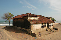 House by the sea on the East Coast of India.