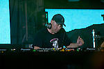 Krafty Kuts plays the Critical Mass Tent at the First Annual Kanrocksas Music Festival.