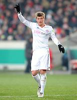 FUSSBALL   DFB POKAL   SAISON 2011/2012   VIERTELFINALE VfB Stuttgart - FC Bayern Muenchen                      08.02.2012 Toni Kroos (FC Bayern Muenchen)