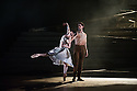 London, UK. 01.04.2014. English National Ballet, in LEST WE FORGET, at the Barbican. Picture shows: NO MAN'S Land, choreographed by Liam Scarlett, with Tamara Rojo, Esteban Berlanga, Erina Takahashi, James Forbat, Fernanda Oliveira and Max Westwell. Photograph © Jane Hobson.
