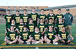 4-28-15 Huron High School boy's varsity lacrosse team