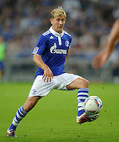 FUSSBALL   EUROPA LEAGUE   SAISON 2011/2012   Play-offs FC Schalke 04 - HJK Helsinki                                25.08.2011 Lewsi HOLTBY (FC Schalke 04)
