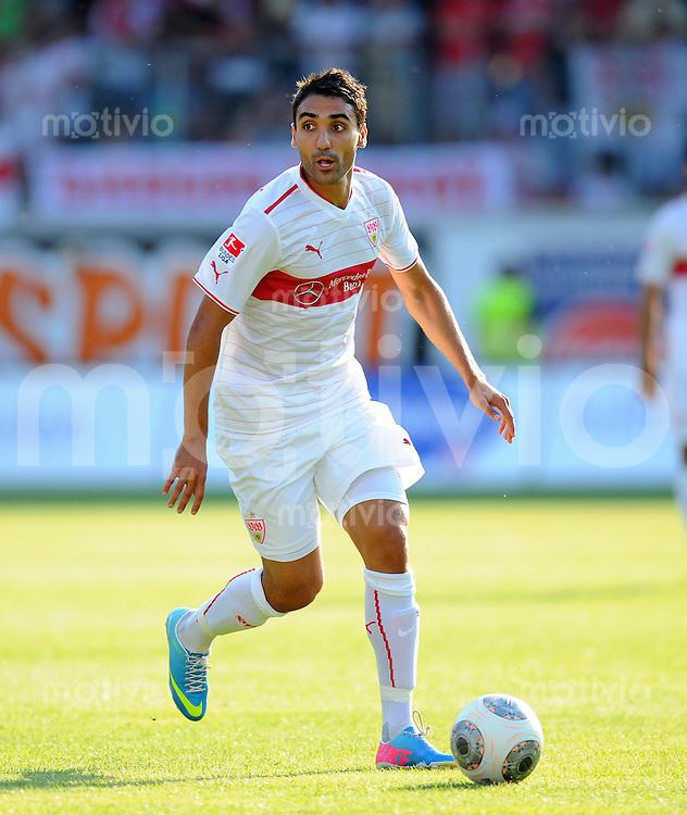 FUSSBALL  1. Bundesliga   2013/2014   Testspiel  FC Heidenheim - VfB Stuttgart   13.07.2013 Mohammed Abdellaoue (VfB Stuttgart) am Ball