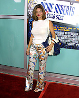 "©2003 KATHY HUTCHINS / HUTCHINS PHOTO.WORLD PREMIERE OF ""DICKIE ROBERTS:FORMER CHILD STAR"".BENEFITING THE CHRIS FARLEY FOUNDATION.CINERAMA DOME.LOS ANGELES, CA.SEPTEMBER 3, 2003..LAURA SAN GIACOMA."