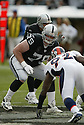 PAUL MCQUISTAN, of the Oakland Raiders  in action during the Raiders game against the  Denver Broncos on December 2, 2007 in Oakland, California...RAIDERS  win 34-20..SportPics