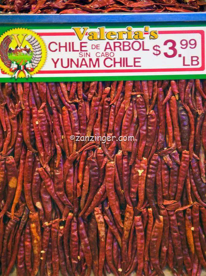 Chile de arbol sin cabo yunam chile grand central for Fresh fish market los angeles