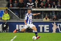 VOETBAL: HEERENVEEN: Abe Lenstra stadion 23-08-2014, SC Heerenveen - Excelsior uitslag 2 - 0, Yanic Wildschut, ©foto Martin de Jong