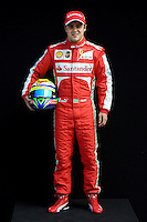 FERRARI BRAZILIAN DRIVER FELIPE MASSA. .Melbourne 16/03/2013 .Formula 1 Gp Australia.Foto Insidefoto.ITALY ONLY .Posato Ritratto Pilota
