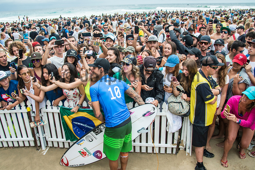 COOLANGATTA, Queensland/AUS (Sunday, March 19, 2017) Gabriel Medina (BRA) - The Quiksilver and Roxy Pro Gold Coast was called ON today in three - to - four foot (1 m) surf at Snapper Rocks. The event got underway at 7:05 a.m. with the Men's Quarterfinals followed by the Women's Quarterfinals and ran through to the finals with Owen Wright (AUS) posting a victory with his first event back from injury and Stephanie Gilmore (AUS) adding another Roxy Pro title to her name. Wright defeated defending event champion Matt Wilkinson(AUS) in an all goofy-foot final while Lakey Peterson (USA) was runner up to Gilmore.   Photo: joliphotos.com