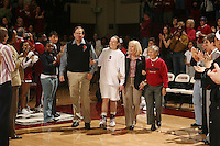 25 February 2007: Clare Bodensteiner during Stanford's 56-53 win over USC at Maples Pavilion in Stanford, CA.