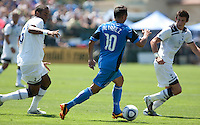 San Jose Earthquakes tied  Tottenham Hotspur 0-0 at Buck Shaw Stadium in Santa Clara, California on July 17th, 2010.