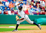 9 March 2010: Detroit Tigers' pitcher Alfredo Figaro in action during a Spring Training game against the Washington Nationals at Space Coast Stadium in Viera, Florida. The Tigers defeated the Nationals 9-4 in Grapefruit League action. Mandatory Credit: Ed Wolfstein Photo