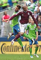 Seattle Sounders FC vs Colorado Rapids July 16 2011