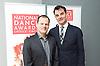 The Critics' Circle National Dance Awards 2016 <br /> at the Lilian Baylis Studio, Sadler's Wells, London, Great Britain <br /> <br /> 6th February 2017 <br /> <br /> <br /> Luca Silvestrini <br /> Artistic Director<br /> Luca Silvestrini&rsquo;s Protein <br /> <br /> Franck Bordese<br /> Executive Director<br /> Luca Silvestrini&rsquo;s Protein <br /> <br /> Photograph by Elliott Franks <br /> Image licensed to Elliott Franks Photography Services