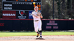 17 February 2017: Notre Dame's Ellie Richards. The Notre Dame Fighting Irish played the University of Minnesota Golden Gophers at Dail Softball Stadium in Raleigh, North Carolina as part of the ACC/Big 10 College Softball Challenge. Minnesota won the game 4-1