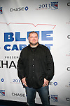 New York Giants David Baas Attends NEW YORK Rangers ROLL OUT THE<br /> &ldquo;BLUE CARPET PRESENTED by Chase&rdquo; <br /> FOR GAME THREE AGAINST WASHINGTON at Madison Square Garden, NY