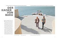 """Mare, """"Der Kaiser von Baku,"""" p. 76-77.  August/September 2013."""