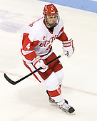 Patrick MacGregor (BU - 4) - The Boston University Terriers defeated the visiting Providence College Friars 4-2 (EN) on Saturday, December 13, 2012, at Agganis Arena in Boston, Massachusetts.