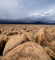 rock formations of Alabama Hills, Owen's Valley, California