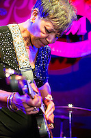 Barbara Lynn performs at the Ponderosa Stomp in New Orleans on October 3, 2015.