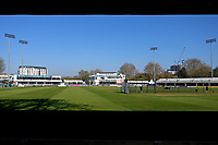 General view of the ground during Essex CCC vs Lancashire CCC, Specsavers County Championship Division 1 Cricket at The Cloudfm County Ground on 9th April 2017