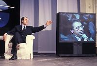 5 MAG 1998 ANTONIO DI PIETRO E ROBERTO MONGINI AD ICEBERG