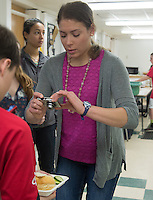 20140415 Nutrition Students do Research at Charlotte Central School