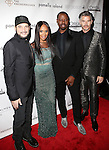 "Phillip Bloch, Debroah Cox, Ted Gibson and Eric Rutherford AT RENOWNED HAIR STYLIST TO THE STARS TED GIBSON HOSTS 50TH BIRTHDAY EVENT WITH THE HELP OF ""GIBSON GIRLS"" ACTRESSES ASHLEY GREEN, KATE WALSH AND DEBRA MESSING HELD AT THE KNICKERBOCKER ROOFTOP"