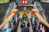 The new Dick's Sporting Goods store in Valley Stream, Long Island, New York holds its grand opening sales on Saturday, July 9, 2016. Dick's recently purchased the intellectual property of its bankrupt competitor Sports Authority with a $15 million bid pending the courts' final approval on July 15.   (© Richard B. Levine)