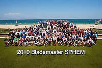 13 June 2010:  Annual Blademaster Equipment Managers SPHEM photo at the Harbor Beach Marriott in Ft. Lauderdale, Florida.