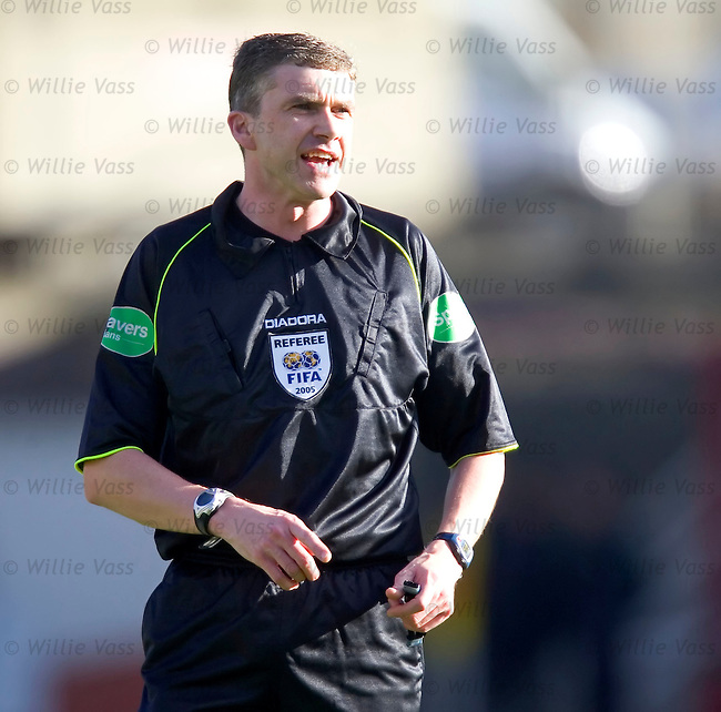 Charlie Richmond, Referee.stock season 2004-2005.pic willie vass