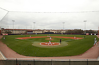SAN ANTONIO, TX - MARCH 13, 2011: The Southeastern Louisiana University Lions vs. the University of Texas at San Antonio Roadrunners at Roadrunner Field. (Photo by Jeff Huehn)