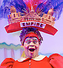 Jack and the Beanstalk <br /> by Susie McKenna with music by Steven Edis <br /> at the Hackney Empire, London, Great Britain <br /> press photocall <br /> 25th November 2015  <br /> <br /> Clive Rowe as Dame Daisy Trott<br /> <br /> <br /> <br /> Photograph by Elliott Franks <br /> Image licensed to Elliott Franks Photography Services