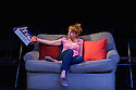 "London, UK. 06.07.2016. Damsel Productions presents, Soho Young Writer Award Winner, Phoebe Eclair-Powell's play ""Fury"" at Soho Theatre. Directed by Hannah Bauer-King, with set design by Anna Reid, and lighting design by Natasha Chivers. Picture shows: Sarah Ridgeway (Sam). Photograph © Jane Hobson."