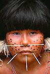 Yanomamo tribeswoman, Parima Tapirapeco National Park, Venezuela