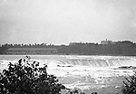 Niagara Falls, New York:  View of the Horseshoe Falls from Goat Island - 1914