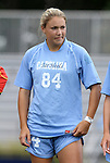 09 September 2011: North Carolina's Courtney Jones. The University of North Carolina Tar Heels defeated the University of North Carolina Greensboro Spartans 2-0 at Koskinen Stadium in Durham, North Carolina in an NCAA Division I Women's Soccer game.