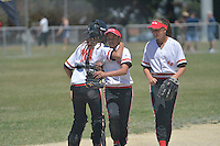 North Island Under 15 Girls Softball Championships at Hataitai Park, Wellington, New Zealand on Friday 4th January 2013, <br />
