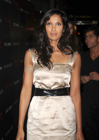 """Padma Lakshmi at the Screening of """"Filth and Wisdom"""" hosted by The Cinema Society and Dolce and Gabbana. Landmark Sunshine Theatre, New York City. October 13, 2008.. Credit: Dennis Van Tine/MediaPunch"""