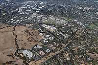 aerial photograph Stanford Research Park Palo Alto, San Clara county, California