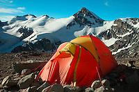 Tent at camp Canada --- Telt i leiren Canada på Aconcagua