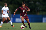 17 September 2016: Boston College's Jade Ruiters. The Duke University Blue Devils hosted the Boston College Eagles at Koskinen Stadium in Durham, North Carolina in a 2016 NCAA Division I Women's Soccer match. Duke won the game 3-2.