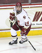 Chris Kreider (BC - 19) - The Boston College Eagles defeated the visiting University of Vermont Catamounts 6-0 on Sunday, November 28, 2010, at Conte Forum in Chestnut Hill, Massachusetts.