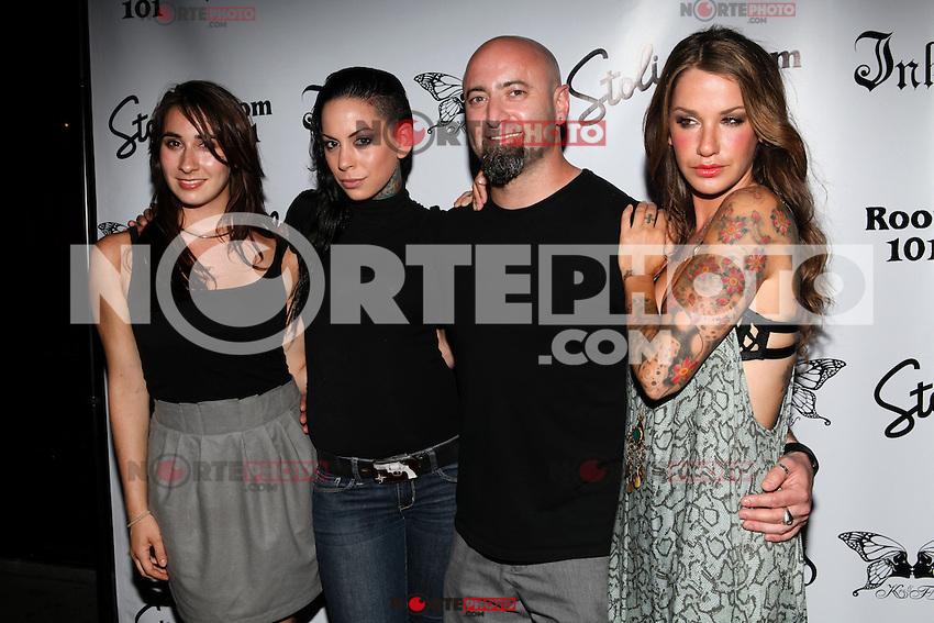 Todd Weinberger and guests attend Inked Magazine release party celebrating August issue, New York. July 17, 2012 &copy; Diego Corredor/MediaPunch Inc. /NortePhoto.com<br /> **CREDITO*OBLIGATORIO** *No*Venta*A*Terceros*.*No*Sale*So*third* ***No*Se*Permite*Hacer Archivo***No*Sale*So*third*&Acirc;&copy;Imagenes*con derechos*de*autor&Acirc;&copy;todos*reservados*
