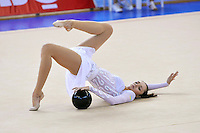 Anna Bessonova of Ukraine performs gala exhibition at 2010 Holon Grand Prix at Holon, Israel on September 3, 2010.  (Photo by Tom Theobald).