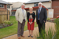 From left: Councillor Jim Weale, Chair of Fernwood Parish Council, Sue Lowe, Newark & Sherwood District Council's winner of Citizen of the Year Competition and Howard Heeley, Secretary and Museum Trustee, Newark Air Museum