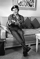 Actress Martha Raye in San Francisco. <br />(1966 photo/Ron Riesterer)