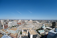 1997 March 07..Redevelopment..Macarthur Center.Downtown North (R-8)..LOOKING NORTH.SUPERWIDE...NEG#.NRHA#..