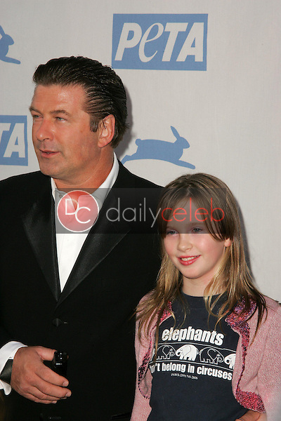Alec Baldwin and daughter Ireland Eliesse<br />
